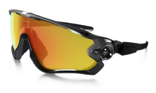 Oakley Jawbreaker Polished Black/ Fire Iridium
