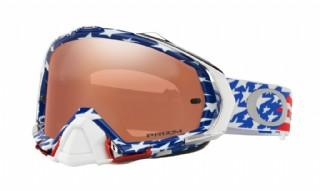 Oakley Mayhem Pro Troy Lee Design Glory Red White Blue/ Prizm MX Black