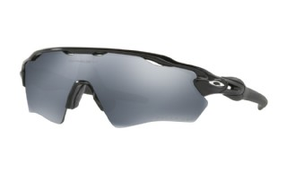 Oakley Radar EV XS (extra small) Path Polished Black/ Black Iridium Polarized