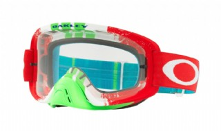 Oakley O Frame 2.0 MX Pineed Rade Red/ Green/ Clear