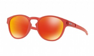 Oakley Latch Prizm Spectrum Collection Ir Red/ Prizm Ruby