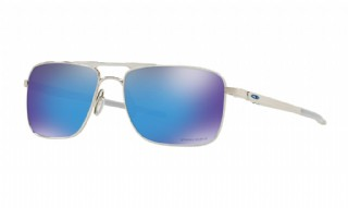 Oakley Gauge 6 Polished Chrome / Prizm Sapphire Iridium