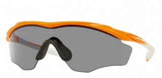 Oakley M2 Frame XL Atomic Orange/ Grey