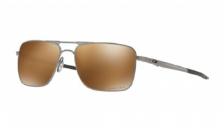 Oakley Gauge 6 Satin Chrome /Prizm Tungsten Polarized
