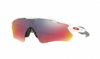 Oakley Radar EV Path Team Colors Collection Polished White/ +Red Iridium