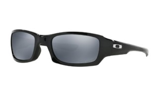 Oakley Fives Squared Polished Black/ Black Iridium Polarized