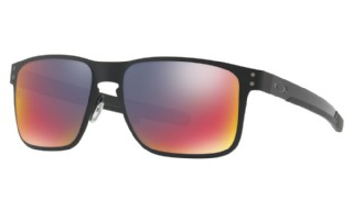 Oakley Holbrook Metal Matte Black/ Positive Red Iridium
