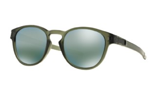 Oakley Latch Matte Olive Ink/ Emerald Iridium