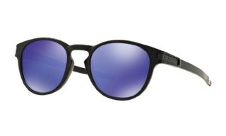 Oakley Latch Matte Black/ Violet Iridium