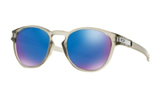 Oakley Latch Matte Grey Ink/ Sapphire Iridium Polarized