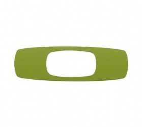 Oakley Square O Sticker Green 9 inch
