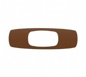 Oakley Square O Sticker Brown 9 inch