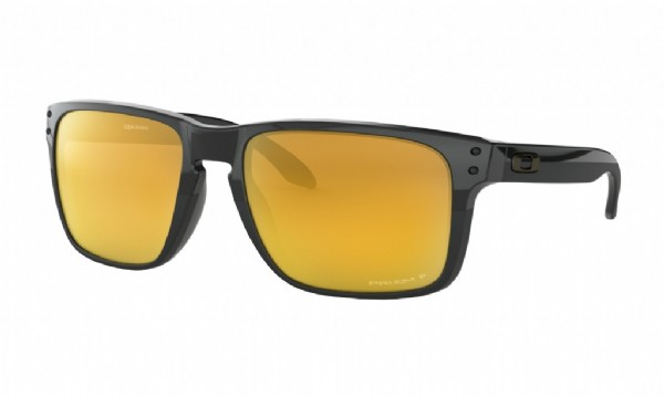 Oakley Holbrook XL Midnight Collection Polished Black/ Prizm 24k Polarized