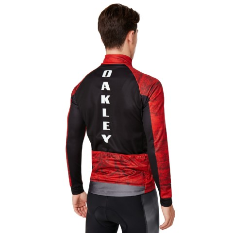 Oakley Cycling Aero Jacket/ Fired Forest