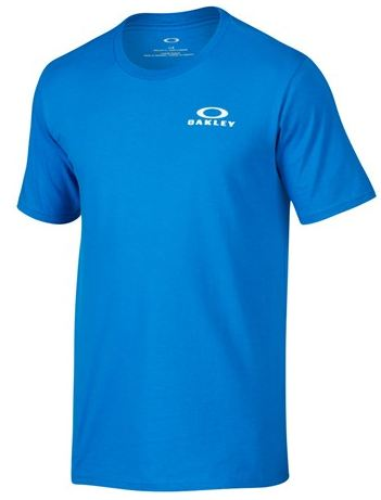Oakley Bark Repeat Tee/ Ozone