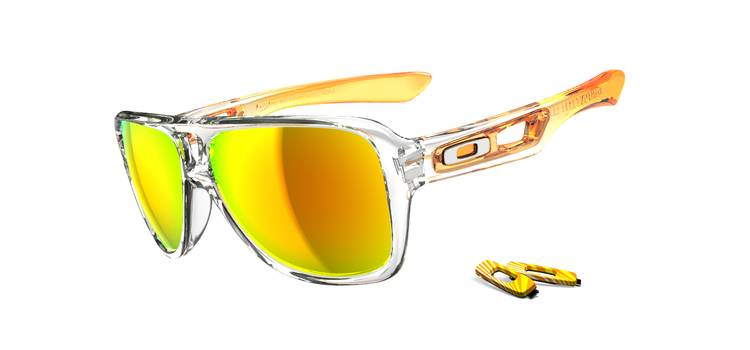 can you change oakley dispatch lenses